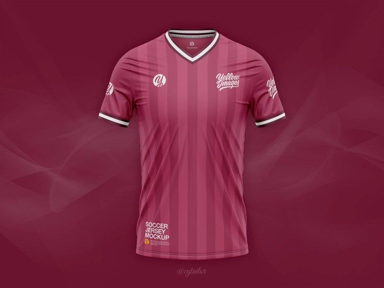 Download Jersey Mockup Cdr - Free PSD Mockups Smart Object and ...