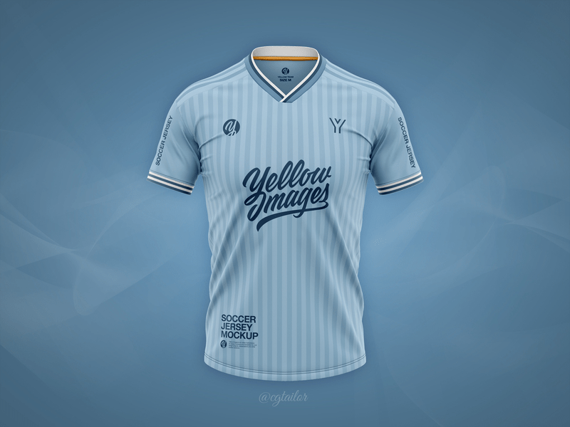 Download Football Jersey Mockup (2019 - 2020 Season) by CG Tailor ...