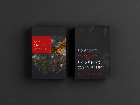 Urban TACTILE  Guide illustration graphic  design design maps collage guidebook book guide braille