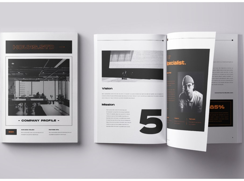 California roommates jack, janet, and chrissy first took the small screen by storm in 1977. Hours Std Company Profile Brochure By Brochure Design On Dribbble