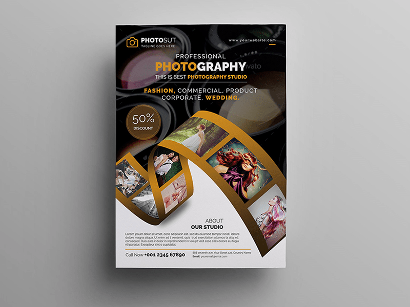 photography poster by madmindgraphics