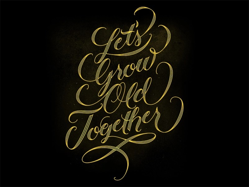 Download Let's Grow Old Together by Daniel Palacios   Dribbble ...