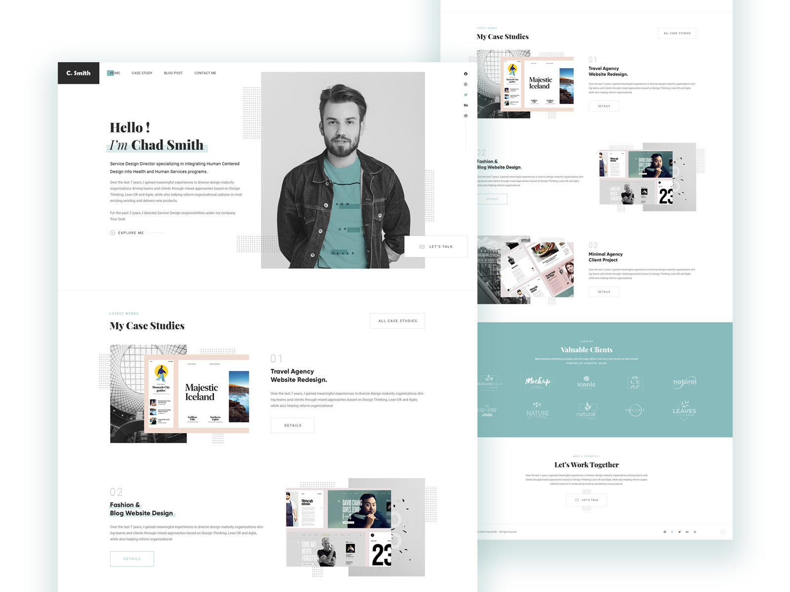 Available in (us)17x11, a4 (16.54x11.69) inches + bleed, and in word, pages, psd, publisher, indesign formats. Portfolio Designs Themes Templates And Downloadable Graphic Elements On Dribbble