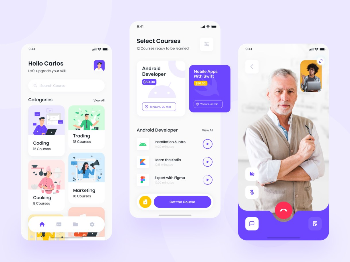 Teacher App designs, themes, templates and downloadable graphic elements on Dribbble