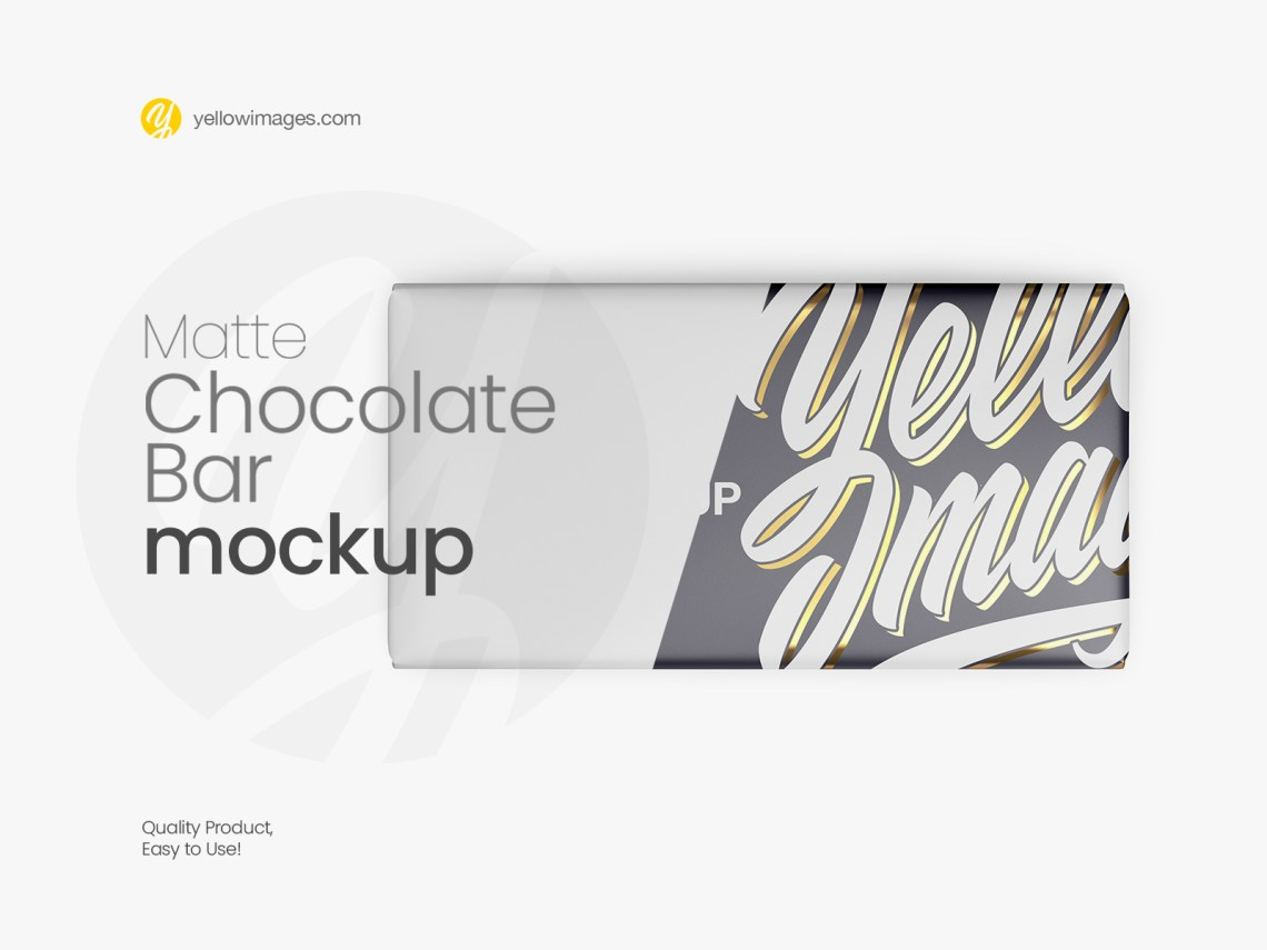 Download Candy Bar Packaging Mockup Yellowimages