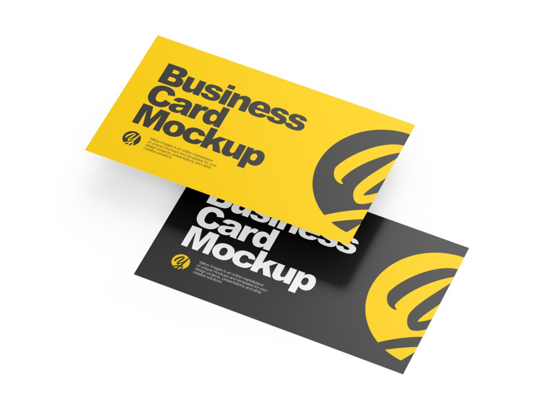 Download Business Card Design Mockup Download Yellowimages