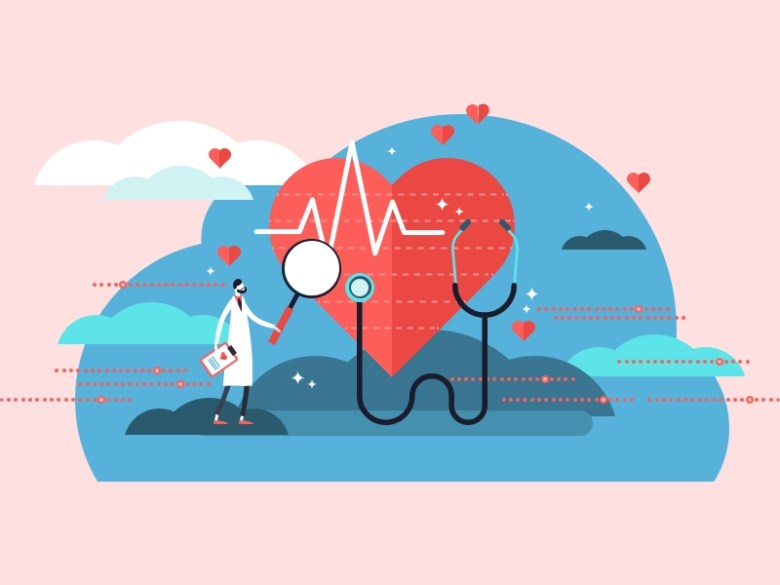 Hiring Healthcare Illustration by Sarah Darr on Dribbble
