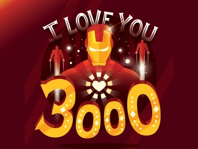 Download I love you 3000 by Risa Rodil on Dribbble