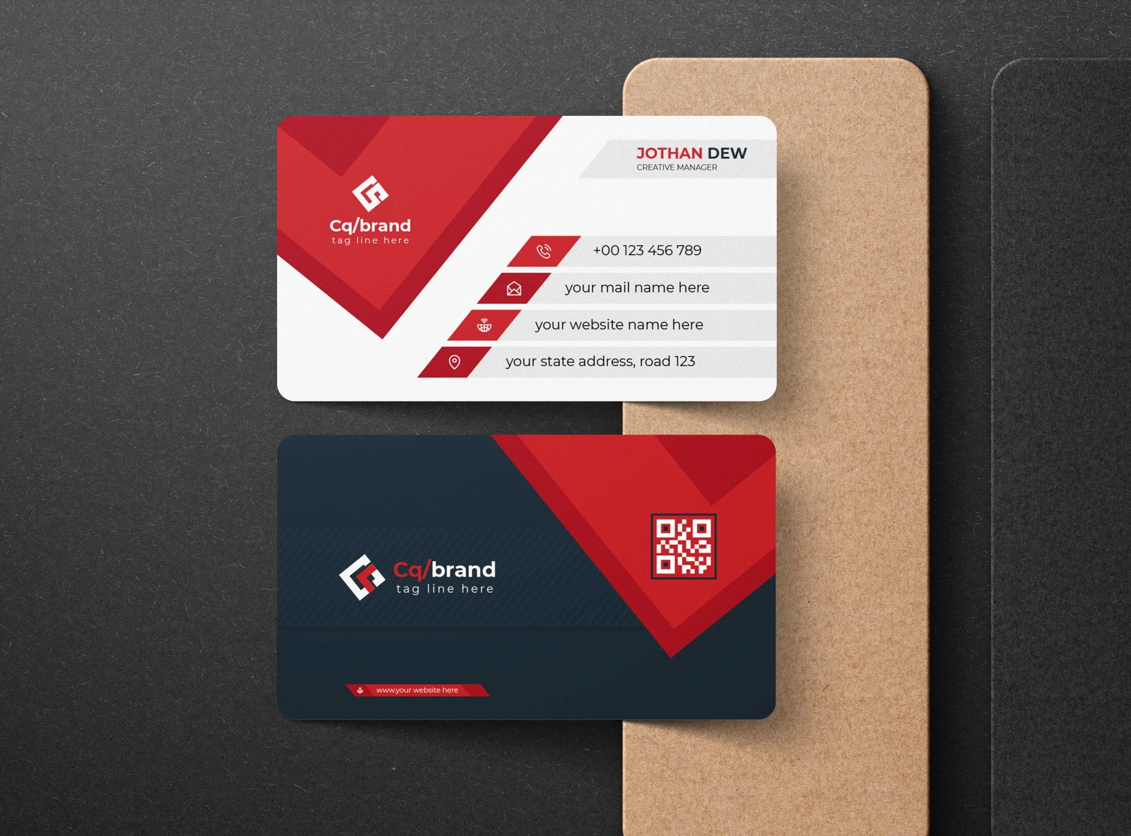 It's about making a connection to the people you want to get to know, and making an impact in what you say and think. Modern Corporate Business Card Template Design By Shahin Uddin On Dribbble