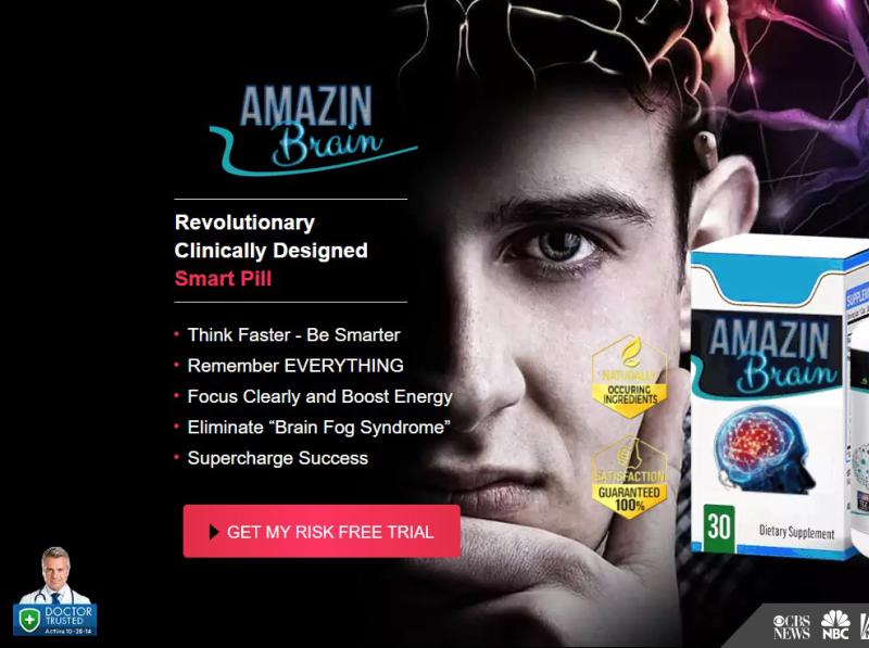 Amazing Brain Booster Ingredients in Amazin Brain Pills!! by amazinalx on Dribbble