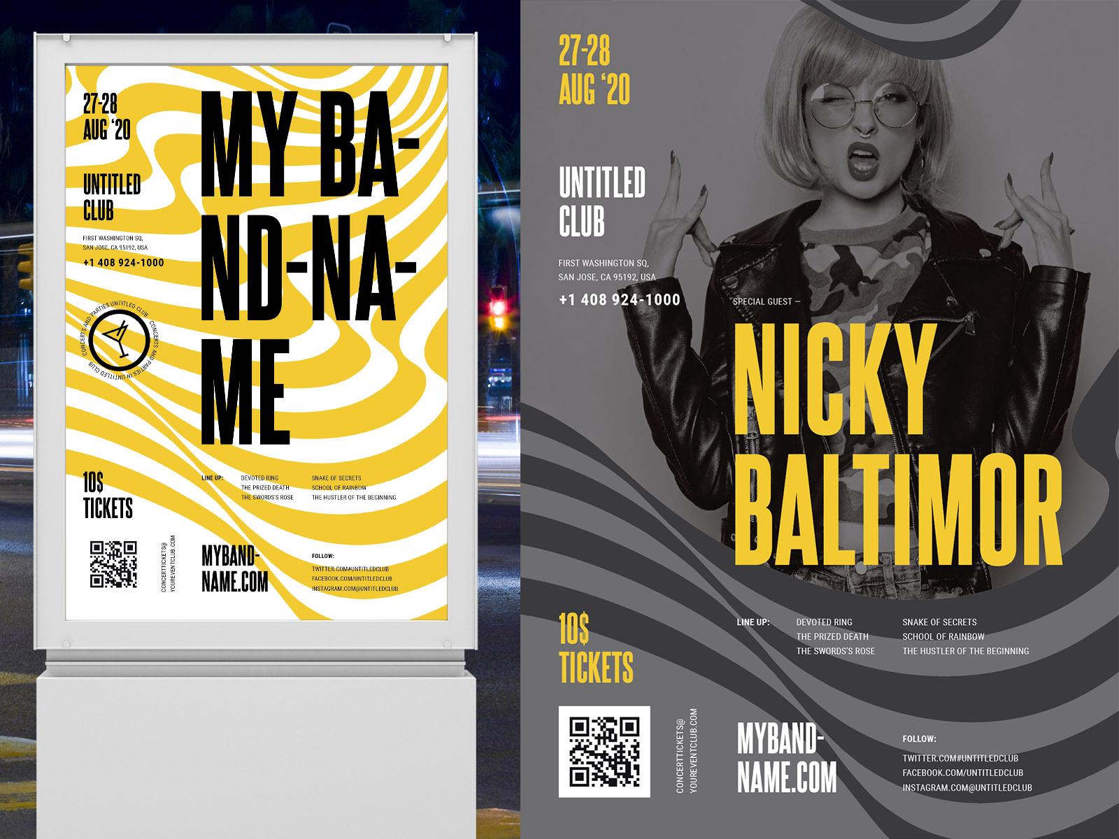 nightclub designs themes templates
