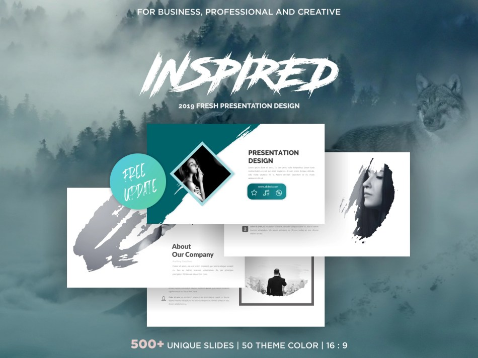 Popular Clean Powerpoint Template - 5
