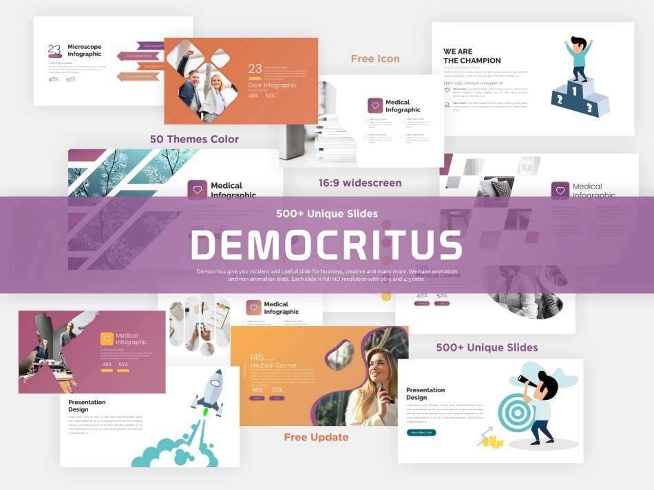 Popular Clean Powerpoint Template - 6