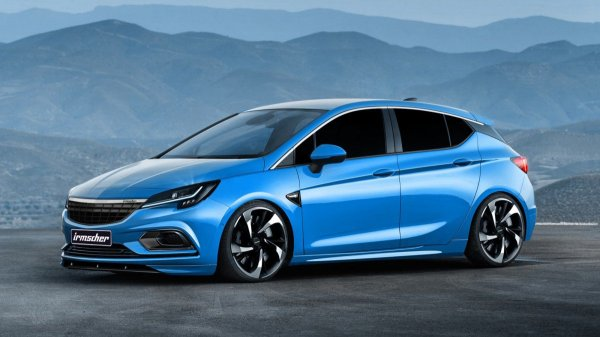 Feed your Opel Astra OPC hunger with Irmscher's styling ...