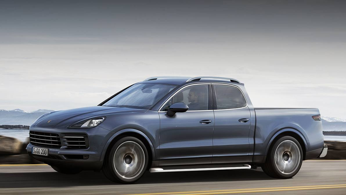 Would A Porsche Cayenne SUV Turned Pickup Truck Surprise
