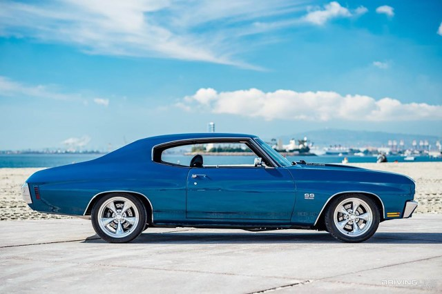 Chevy Chevelle SS Side View