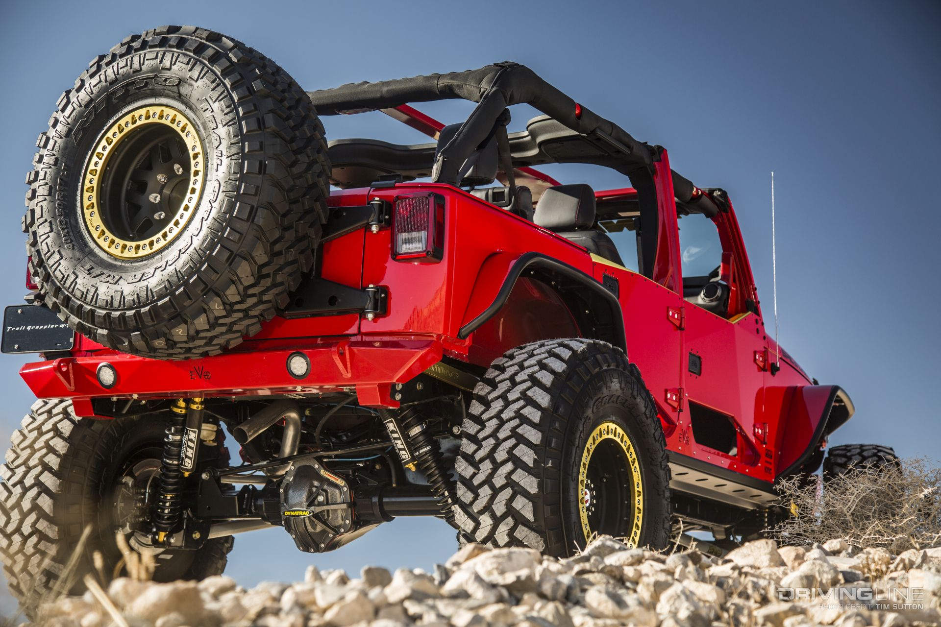 Spicy Chicken An EVO Built 2017 Jeep Wrangler Unlimited