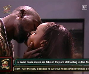 News: Hakeem's Dillish-ious kiss