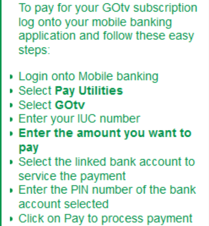 How To Pay Gotv Bill Via Mpesa - ▷ ▷ PowerMall