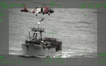 Coast Guard medevacs injured fisherman near Cold Bay, Alaska