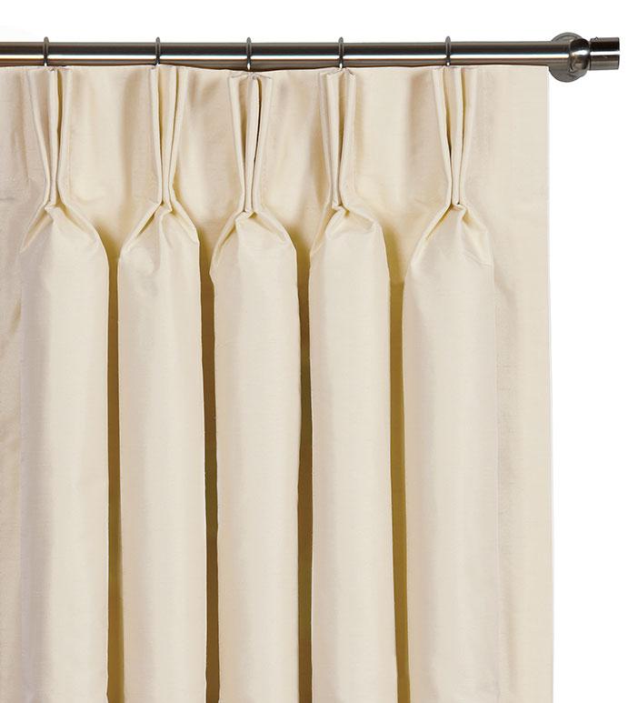 edris ivory curtain panel