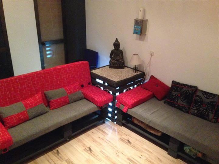 Top 104 Unique DIY Pallet Sofa Ideas - Easy Pallet Ideas on Pallet Room  id=75701
