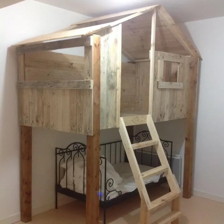 125 Awesome DIY Pallet Furniture Ideas - Page 12 of 12 ... on Pallet Ideas For Bedroom  id=65970