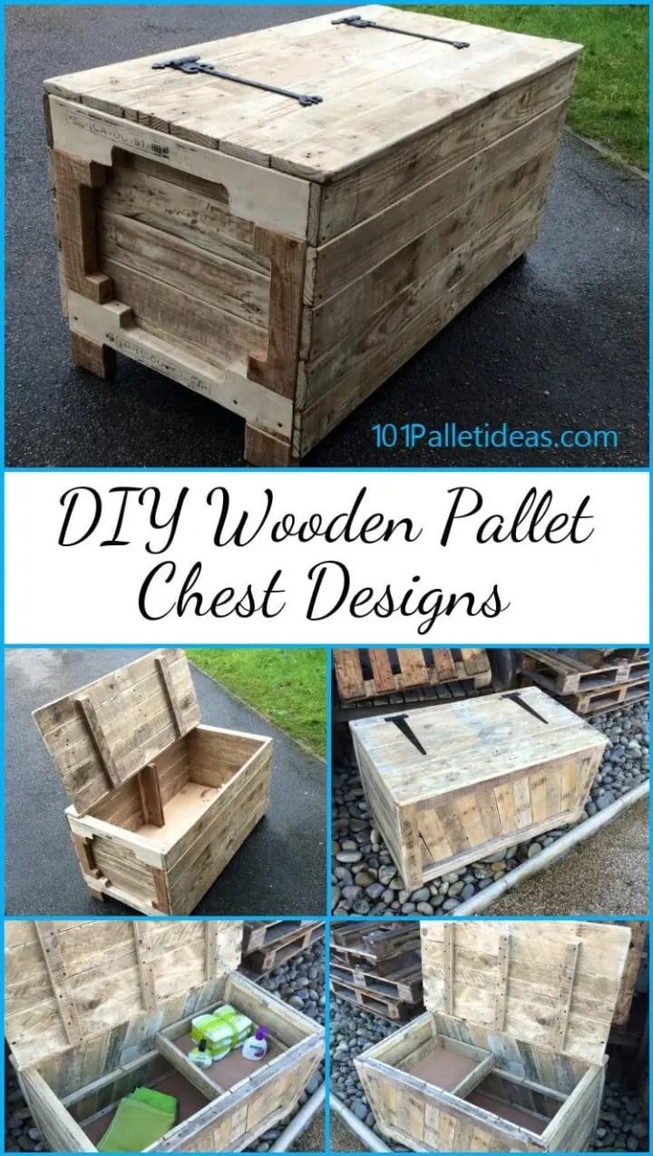 DIY Wooden Pallet Chest Designs - Easy Pallet Ideas on Pallet Design Ideas  id=88483