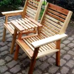 Upcycled Pallet Chair Bench Easy Pallet Ideas