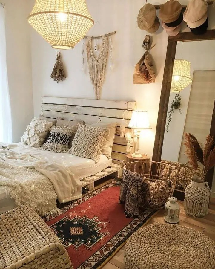 100 DIY Recycled Pallet Bed Frame Designs - Easy Pallet Ideas on Bed Pallet Design  id=80230