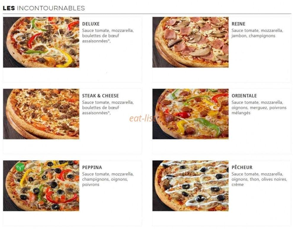 domino s pizza a le chesnay carte menu