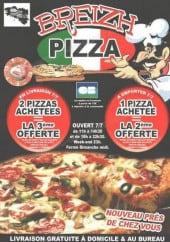 breizh pizza a brest carte et menu en