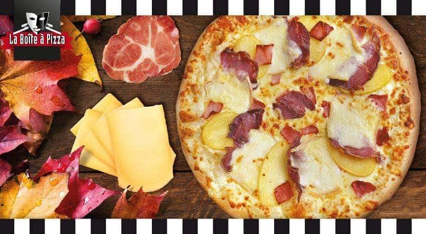 la boite a pizza carte menu et avis
