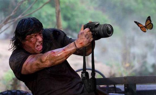 shot it