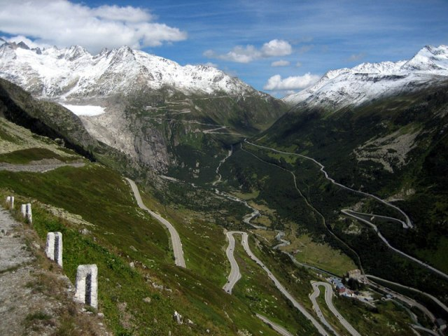 beautiful drives - grimsel pass