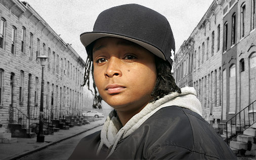 """17 -  When """"The Wire"""" actress Felicia Pearson was 14, she was convicted of second-degree murder in the shooting death of Okia Toomer. Though she was sentenced to serve two consecutive 8-year terms, she was released after just 6.5 years at the Maryland Correctional Institute."""