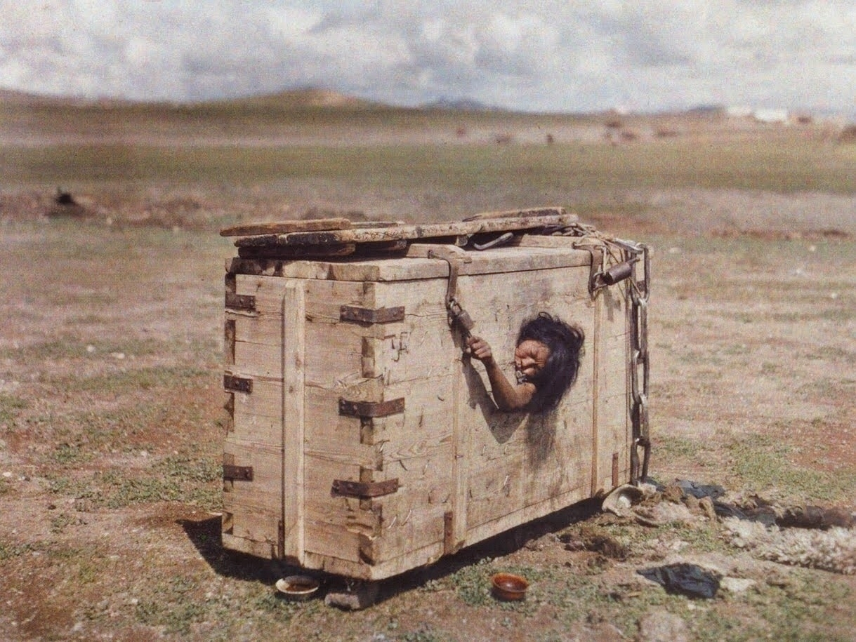 Mongolian Woman sentenced to death, by Starvation.