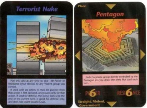 The Illuminati Card Game 1990