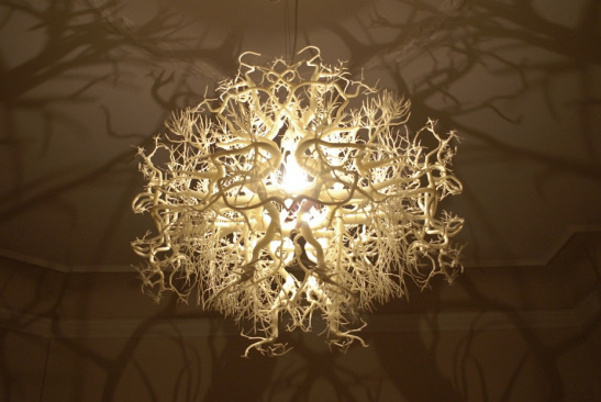 1 Chandelier That Turns Any Room Into A Forest Nightmare