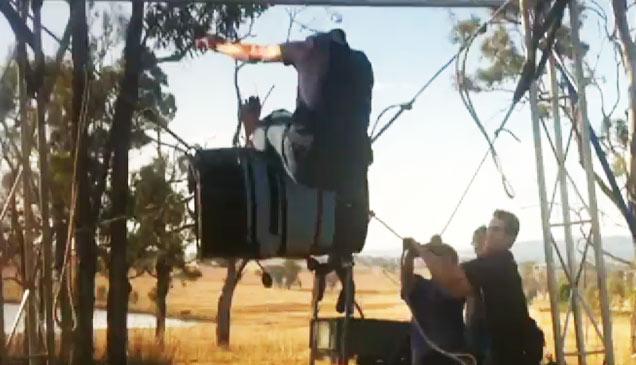 Homemade Mechanical Bull Fail Fail Video Ebaum S World