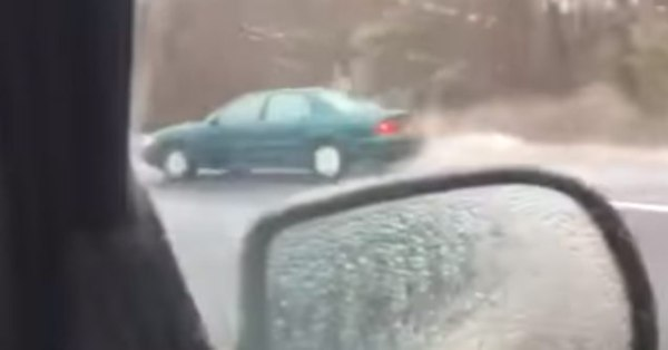 Dude Has the Most New England Reaction to a Car Crash ...