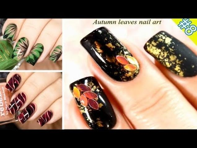 Autumn Nail Art Designs October 2017