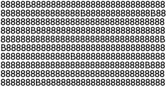 Ninguém acerta de primeira: quantas letras B estão escondidas na imagem?