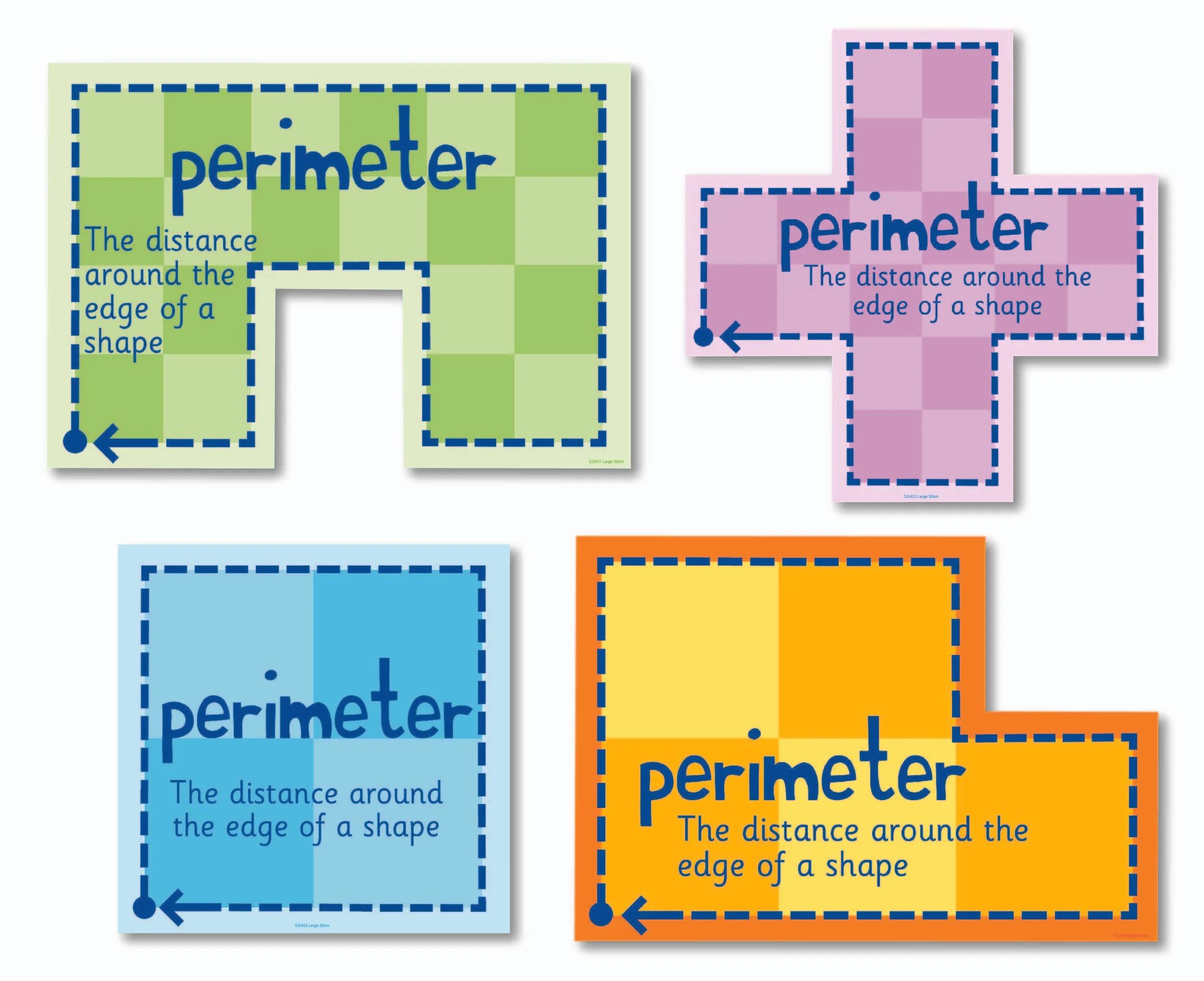 Set Of 4 Perimeter Signs