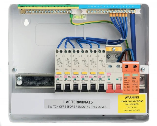 fuse box unit  schematic wiring diagram electronmaterial