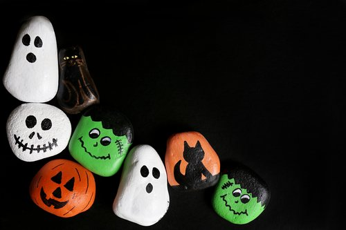 This quick history lesson will help you understand how this festive holiday began. Halloween Rock Painting Activity Education Com