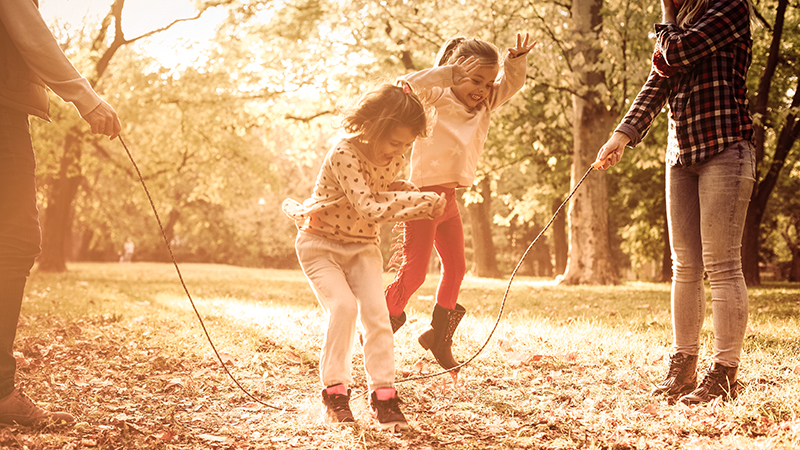 Activities to get your family outside for fall