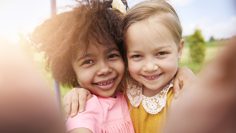 how to help your young child be a good friend