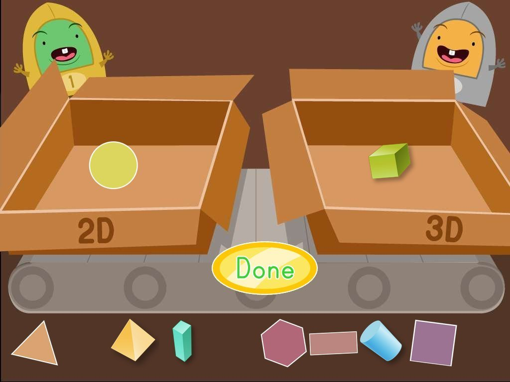 Solid Shapes Identifying 3 D Shapes