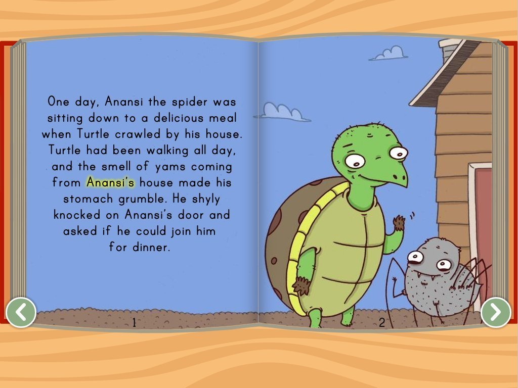 Anansi And The Turtle Story